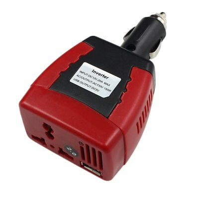Cigarette Lighter Power Supply 150W 12V DC To 110V AC Car Power Inverter BR