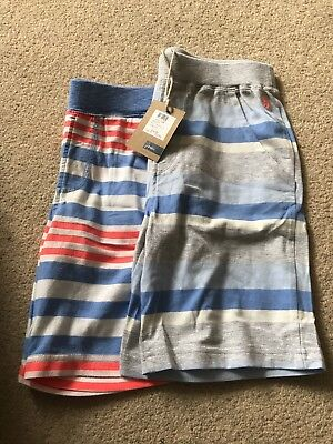 2 Pairs Of Joules Shorts Age 9-10 Brand New rrp £16.95