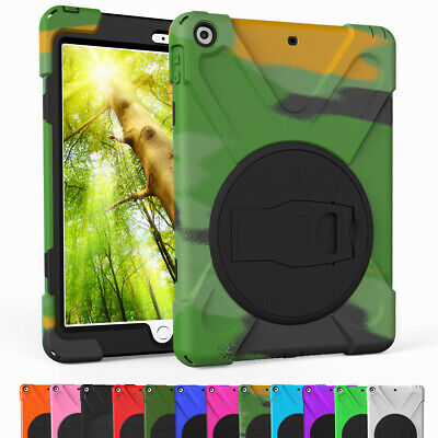360 Kickstand Screen Protector Hard Case Cover For iPad 9.7 2018 6th Generation