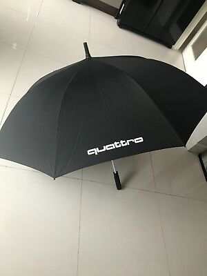Quattro GmbH Audi Original Large Umbrella Blackred Audi AG - Audi umbrella