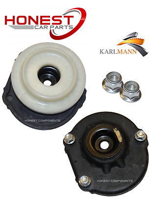 For PEUGEOT BIPPER 2008-2013 FRONT TOP STRUT MOUNTINGS & BEARINGS & BOLTS New X2