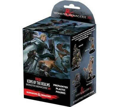 D&D Icons of the Realms - Monster Menagerie 3 (Set 8) Booster - NEU OVP!