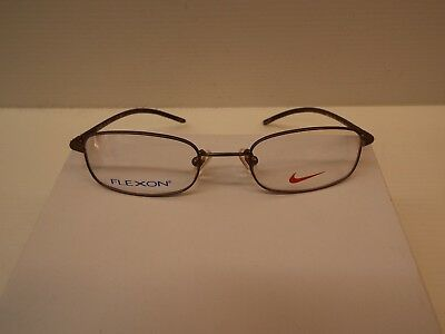 NIKE WITH Flexon 4606 220 Glasses Frames Bronze & Brown With Case ...