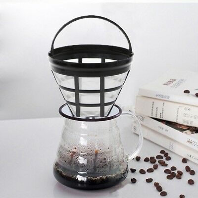 Useful Coffee Filter Mesh Permanent Coffee Filter Basket Coffee Maker Strainer