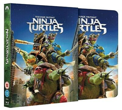 Teenage Mutant Ninja Turtles (Steel Book) [Blu-ray]