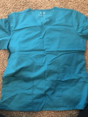 Cherokee Luxe Women's Scrubs SET - Medium Teal