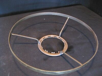 9 inch PLAIN SHADE RING FOR AN OIL LAMP - DUPLEX FIT.