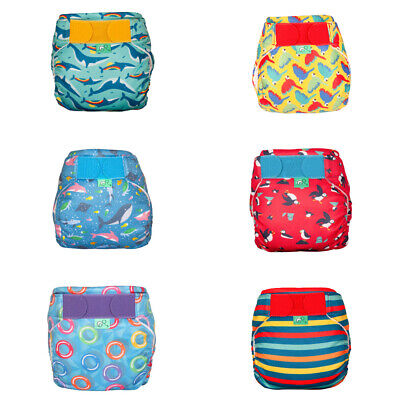 TotsBots Swim Nappy Birth to 2+ Years 2 Sizes Comfy Breathable Washable Reusable