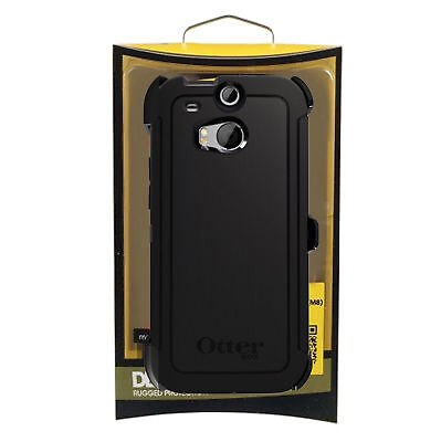 Case for HTC One M7/M8/M9/Mini Otterbox Defender Shockproof Hybrid Rugged Cover