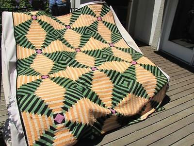 Pineapple/Windmill Quilt