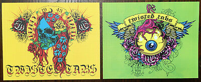 11 Sheets Of Twisted Tabs Blotter Art Tattoo Series 10 Years Old Mint
