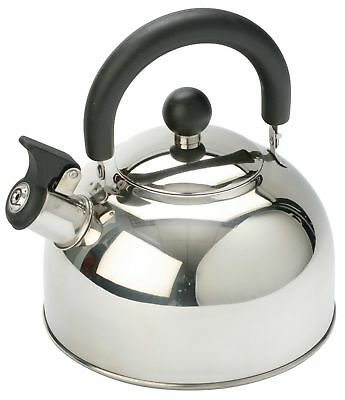 Vango Stainless Steel Camping Kettle With Folding Handle 1,6 Litre Vango