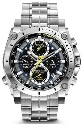 "New Bulova Men's Precisionist Chronograph Men' s Watch 96B175 ""MRRP $895"""