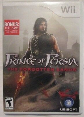 Nintendo Wii Prince of Persia The forgotten sands (Manual, box and game) #3