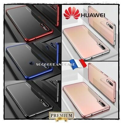 Coque housse Etui Electroplating TPU CAFELE Soft Case Cover Huawei P20 Lite