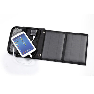 Folding 14w Solar Power Charger Panel Bag USB Output for Mobile Phone