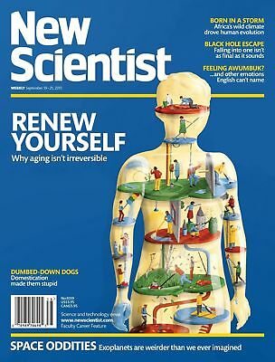 NEW SCIENTIST MAGAZINE 19th SEPT 2015 SPECIAL OFFER BUY ANY 6 ISSUES FOR £10.00