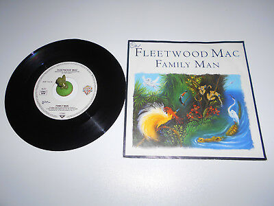 Fleetwood Mac - Family Man (1987) Vinyl 7` inch Single Vg +