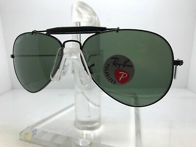 0c2afb8ba37 New Ray Ban Sunglasses RB 3030 L9500 outdoorsman paddle 58mm polarized lens