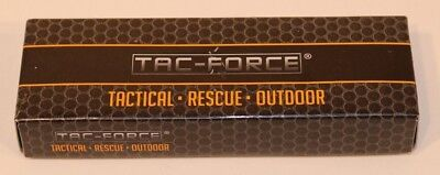 Tac Force TF 723 Open Assist Rescue Emergency EMS Speedster EMT Pocket Knife