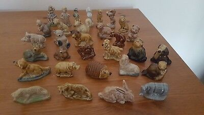 Wade Whimsies Mixed Lot Of 31 Animals And Other