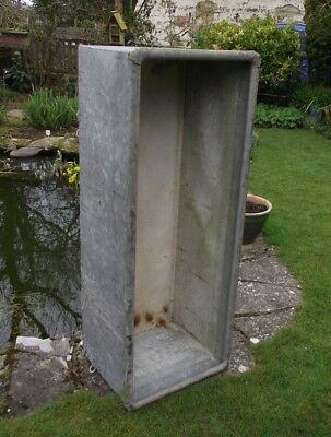 galvanised water trough tank 4ft container no leaks