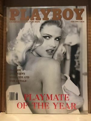 Playboy Vintage June 1993~Playmate Of The Year Anna Nicole Smith~Like New NM~