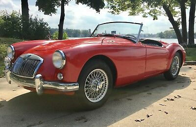 1958 MG MGA  1958 MGA Roadster