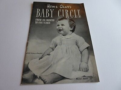 Home Chat's Baby Circle From Six Months to Five Years Prince Charles baby 1951