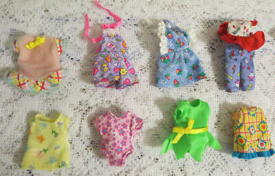 LOT of 8 pcs. ~ MATTEL KELLY CLOTHES ~ ALL NEW - FRESH OFF DOLLS or OUT OF PKGS.