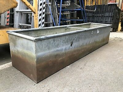 Galvanised water trough/feeder
