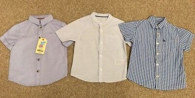 Boys Shirts Age 18-24 Months (includes One BNWT)