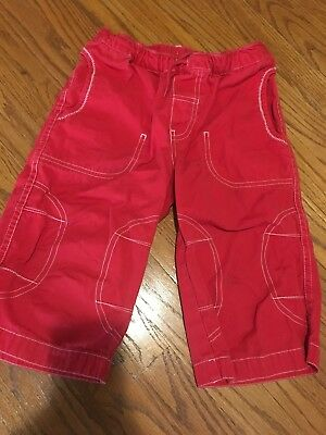 Hannah Anderson Boys Red Shorts Size 120