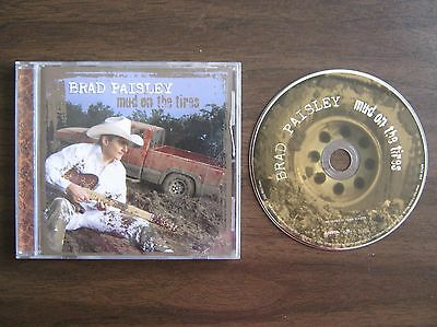 Brad Paisley - Cd - Mud On The Tires
