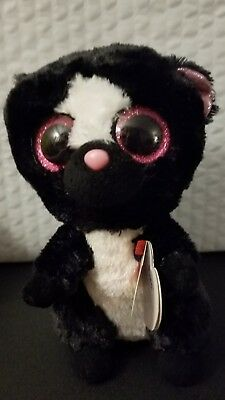 27769026585 Ty Beanie Boos - Flora the Skunk Soft Toy by Beanie Boos New 2015