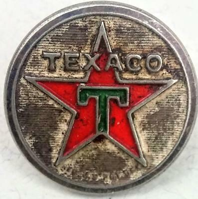 Vintage TEXACO Attendant Uniform Button Rare Made by Harding of Boston