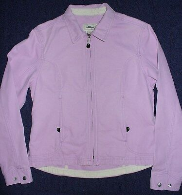 LL Bean Womens Spring Jacket size S Purple Cotton VGUC  Summer