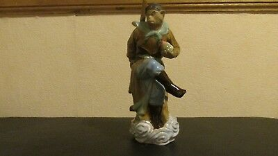 Antique/vintage Chinese Pottery Figure Of monkey king Immortal