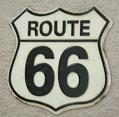 Vintage Style Route 66 Highway Man Cave Signs Decor Gas Station Oil Pump Garage