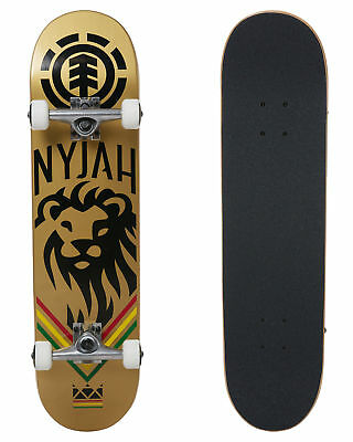 """Element Skateboard Complete Nyjah King 7.75"""" Pre-Assembled FREE POST"""