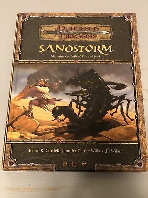 Dungeons & Dragons Sandstorm: Mastering the Perils of Fire and Sand TILES UNUSED