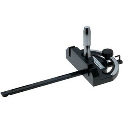 """Clamping Miter Gauge for Table Saw Shaper Sander Router 3//4/"""" x 3//8/"""" Bar New"""