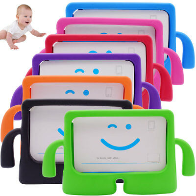 Kids Shockproof Case Stand Rubber Cover For Amazon Kindle Fire HD 8 6th 7th  Gen
