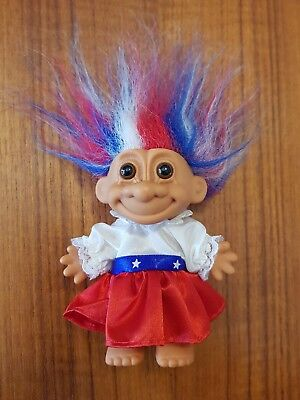Russ Troll Doll American Patriotic Looking