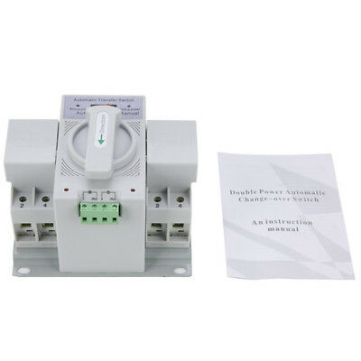 2P 63A 110V MCB type Dual Power Automatic transfer switch ATS-YM16