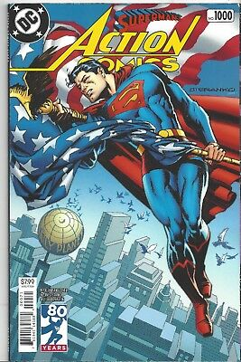 Action Comics #1000 1970's Variant First Print Rebirth