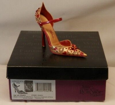 """Collectible """"Just the Right Shoe"""" by Raine - Up All Night - Valentine 2006"""