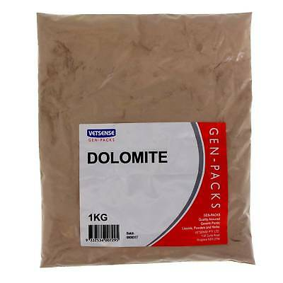 Dolomite 1kg Horse Equine Supplement Health Vetsense Gen-Pack Value Pet