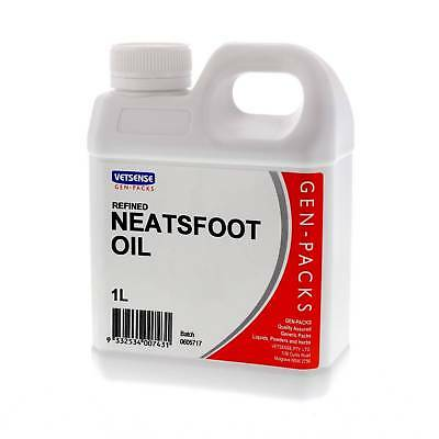 Neatsfoot Oil Refined 1L Conditions Leather Restores Repels Water Softener