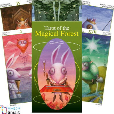 Tarot Of The Magical Forest Deck Cards  Esoteric Fortune Telling Lo Scarabeo New